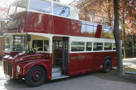 The London Ceremony Bus