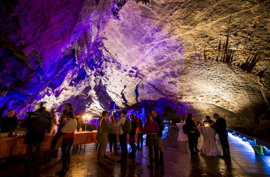 Het Domein Van De Grotten Van Han Vergaderzalen Han Sur