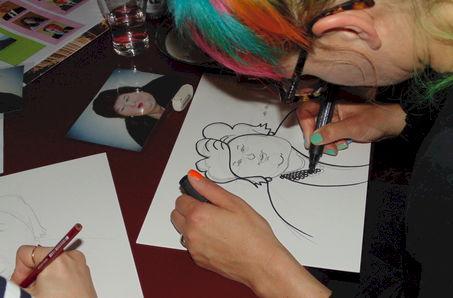 Karikaturist Maggy Jacqmin