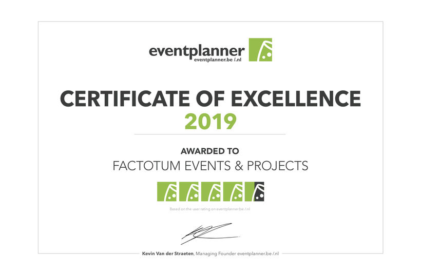 Certificate of Excellence 2019 - Foto 1