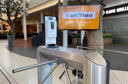 Solotion, de volautomatische oplossing voor veilige en snelle toegang tot publieke ruimtes! - Foto 1