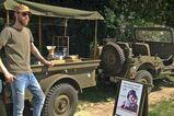 Mobiele koffiebar in army stijl - Foto 1