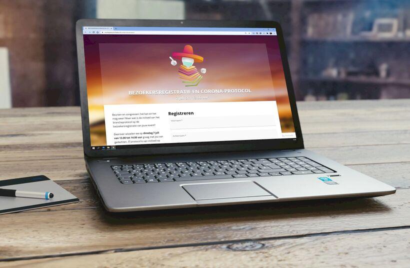 Gratis online sessie: Bezoekersregistratie en Corona-protocol - Foto 1