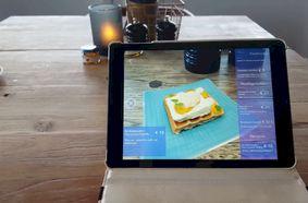 Hologram vervangt straks klassieke menukaart