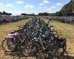 Alle fietsen netjes geparkeerd op jouw evenement