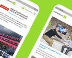 Stormloop op eventplanner app