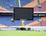 Gigantisch Sony videoscherm in Amsterdam ArenA