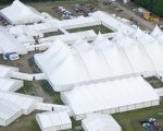 Neptunus bouwt 20.000 m2 tenten