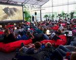 Mobiele Fatboy bioscoop op Festivak