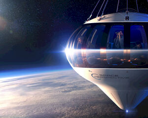 Evenement in de ruimte? Dat kan voor 125.000 dollar per persoon