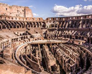 Colosseum Rome krijgt opnieuw vloer en gaat evenementen organiseren