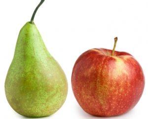 Column: Peren zijn appels met een teut