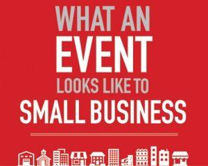 Opmerkelijke infograph over 'small business' events