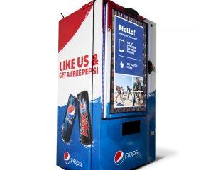 Pepsi komt met eerste like-automaat op event