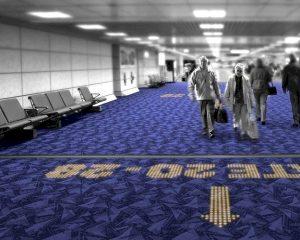 Philips stopt LED-verlichting in tapijt