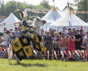 Middeleeuwen komen tot leven op spectaculair event