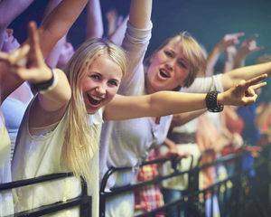 Festivalgangers kunnen decibels niet aan
