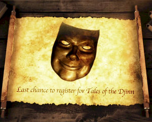 Laatste kans! Registreer nu voor belevingsspektakel 'Tales of the Djinn'
