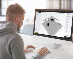 Creatie & opvolging beMatrix standen wordt kinderspel met de beCAD Online Design Tool