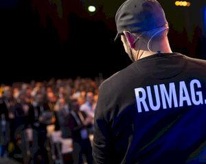 RUMAG maakt niet allen zwaar vette online content, het organiseert ook een LEIP festival