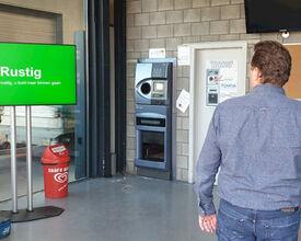 Intelligent scherm helpt winkels bij regelen drukte