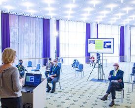 Coronaproof vergaderen in Kursaal Oostende