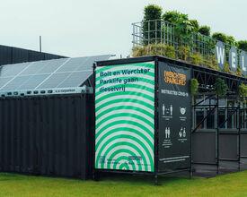 Ongezien: festival draait volledig op groene stroom