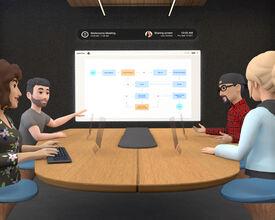 Facebook's nieuwe gok op 'virtual reality': online vergaderzalen
