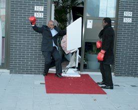 Directeur eventbureau door muur geslagen