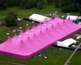 Pink Galaxy van De Boer op Wielerzesdaagse