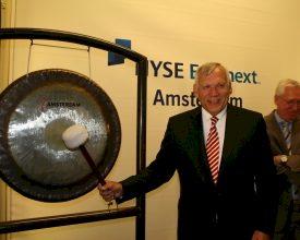 Directeur Amsterdam RAI opent NYSE Euronext Amsterdam