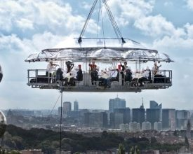 Nieuw concept Dinner in the Sky