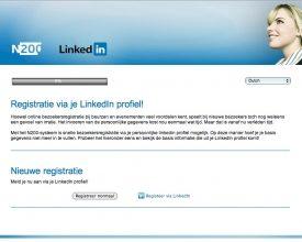 N200 lanceert bezoekersregistratie via LinkedIn