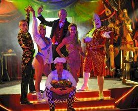 Circus, cabaret & chaos dinnershow