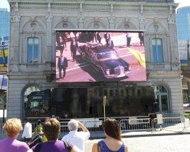 Nieuwe koning voor België, nieuw scherm voor Europa