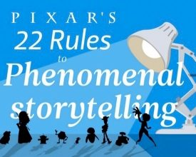 Pixar's 22 regels voor storytelling