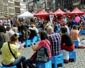 KBC valt extra op door FestivalChairs op culturele evenementen