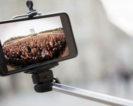 Events verbieden selfiestick
