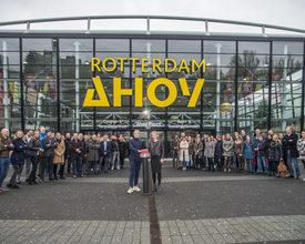'Ahoy Rotterdam' wordt na 45 jaar 'Rotterdam Ahoy'