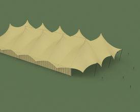Bijzondere nieuwe multifunctionele evenemententent: De Sahara