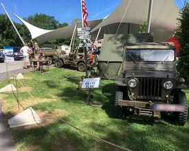 De magie van militaire jeeps op jouw event