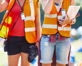"""""""Bewaking op festivals kan nog steeds door vrijwilligers"""""""