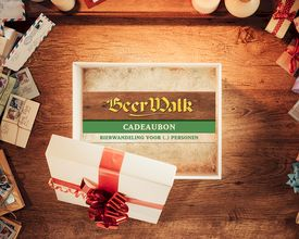 WIN - Originele BeerWalk cadeaubon