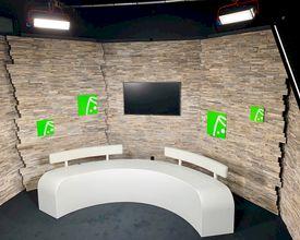 Gloednieuwe tv-studio voor eventplanner.tv