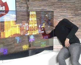"""Eerste transparante 55"""" OLED-schermen bij Novid - UNBOXING"""