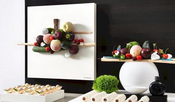Originele food decoratie geeft je event wow effect