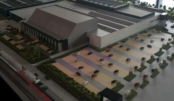 1.000 nieuwe parkeerplaatsen voor AED Studios