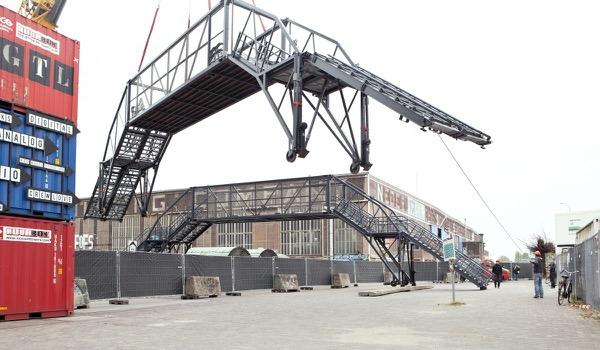 Innovatieve brug zorgt voor veilige doorstroming bezoekers Tourstart Utrecht