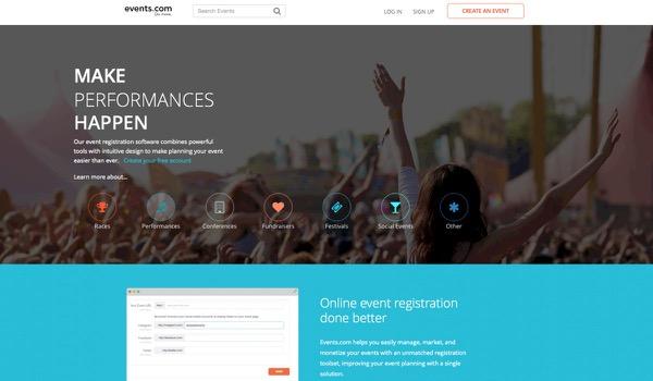 Start-up: Events.com
