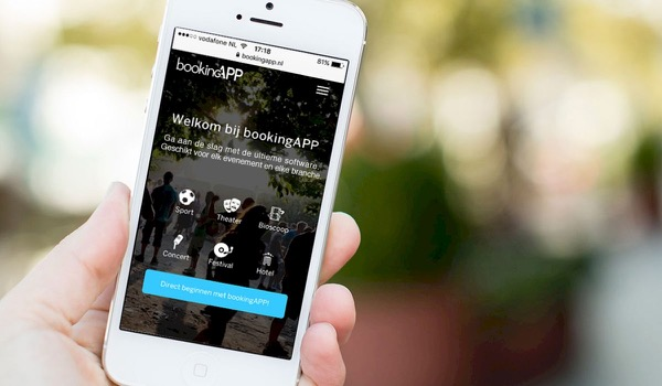 Ontdek ticketing start-up bookingAPP